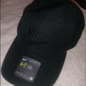 Adjustable Black Nike Hat